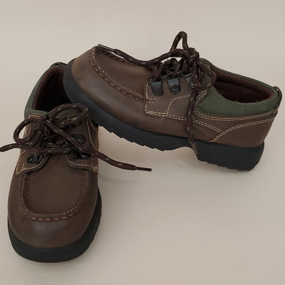rugged outback Other - Kids toddler boys brown loafers size 10